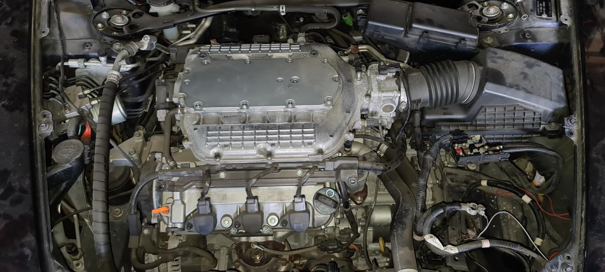 Двигатель J35A8 Honda Legend KB1 59 т. км Без пробега по России
